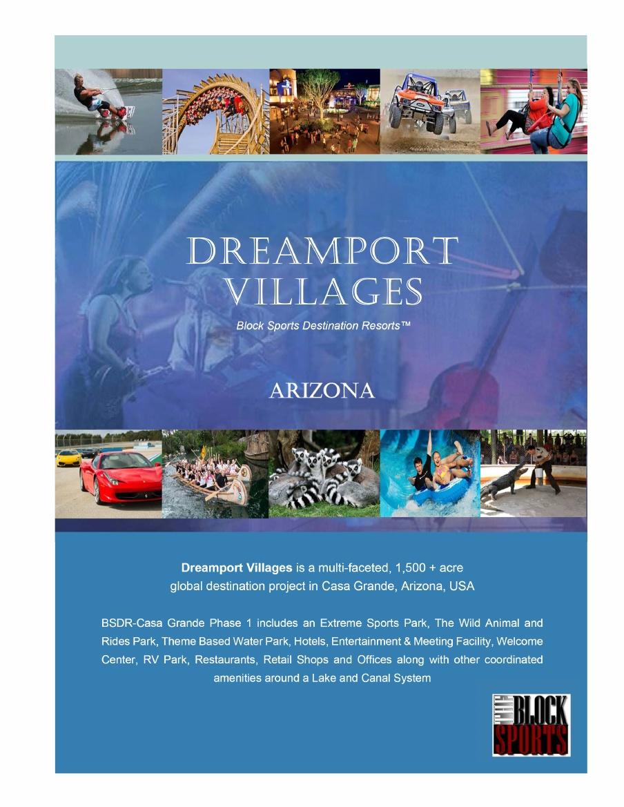 Dreamport Villages Developer Proposes 4b Amusement Park